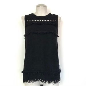 J Crew Factory Knit Sleeveless Sweater Size M